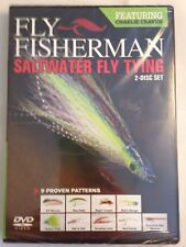 New Fly Fisherman Saltwater Fly Tying DVD (2014)