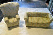 American Girl Retired Angelina Ballerina Living Room Sofa & Chair
