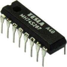 MH74S287 = N82S129N = SN74S287N TTL 256*4 PROM
