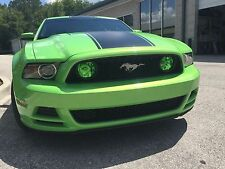 10-14 FORD MUSTANG LAMIN-X FRONT/DRIVING FOG LIGHT OVERLAYS