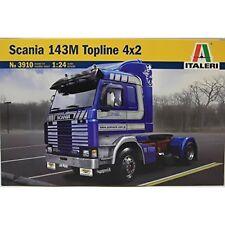 Scania 143M Topline 4x2 Truck Camion Plastic Kit 1:24 Model 3910 ITALERI
