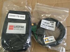 Physio Control 3-Lead ECG Cable For LIFEPAK 1000 AED - 11111-000016 w/ Soft Case
