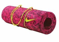 NIKE 10mm Hyper Force Training Yoga Mat Pink Fuchsia 72 x 24 NWT