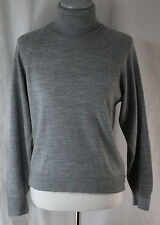 Duvet, Small, Gray Turtleneck Sweater, New without Tags