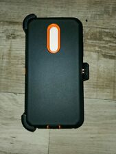 LG Stylo 5 Hybrid Case Defender Shockproof with (Belt Clip Fit Otterbox)