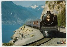 CANADA Steam Railway Train - Royal Hudson British Columbia - 1978 used postcard