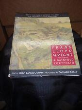 Frank Lloyd Wright : A Gatefold Portfolio 1997 Hardcover Spiral