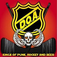 D.O.A. - KINGS OF PUNK, HOCKEY AND BEER CD (2009) CANADA PUNK