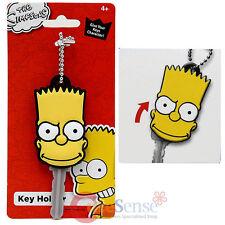 Simpson Family Bart Face Key Cap Key Holder Silicone Rubber Key Holder