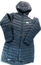Helly Hansen 62830 990 Women's SMALL Black Verglas Long Insulator Jacket 3062 []