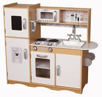 Kiddi Style Modern Chefs-247 XLarge Childrens Kids Play Toy Wooden Kitchen