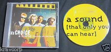 K'S CHOICE 'A SOUND THAT ONLY YOU CAN HEAR' 1995 PROMO CD SINGLE