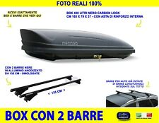 Box Portatutto per Mitsubishi Outlander dal 2012> tetto auto barre baule kit in