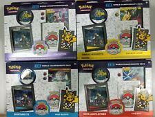 2019 Pokemon Trading Card Game World Champion Deck All 4 Sets