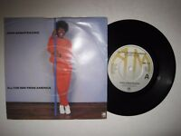 """JOAN ARMATRADING - ALL THE WAY FROM AMERICA - 7"""" 45 rpm vinyl record"""