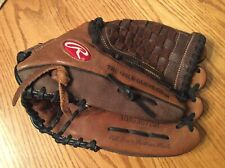 EUC Rawlings RBG36TBR 12.5 Inch Baseball Mitt Glove Right Hand Throw Leather