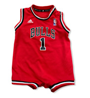 Rare NBA Derrick Rose Baby Jersey Chicago Bulls Red 24M