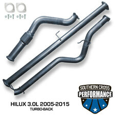 """2005-2015 TOYOTA Hilux 3.0L 3"""" Turbo-Back Exhaust System"""
