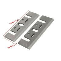 2* Ersatzteile Elektrik Hobelmesser Messer Hobelklingen 82mm For Makita 1900B O1