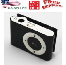 MP3 Music Player Support 32GB Micro SD TF with  Mini Clip