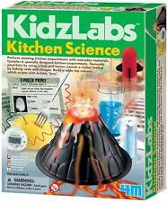 Kitchen Science Kit 6 Experiments DIY Lemon Clock Rocket Chemistry Lab STEM Toys
