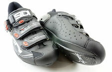 SIDI Genius 7 Road Cycling Shoes Men's Size US 11.5 EUR 46  Black 3 Bolt