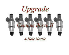 BOSCH UPGRADE FUEL INJECTOR SET 4-HOLE NOZZLE FLOW MATCHED (6) BMW 3.5 5.0