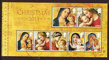GREAT BRITAIN 2013 CHRISTMAS MINIATURE SHEET FINE USED