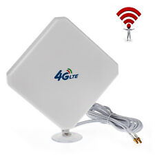 4G/3G 35dbi Signalverstärker Breitband Externe Handy Antenne LTE Huawei TS9 Neu