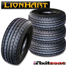 4 Lionhart LH-HTP P255/70R16 109T All Season Light Truck Tires 255/70/16 New