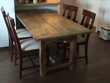 Set von 4 Stühlen, Polsterstühle, Sitzgruppe, Esszimmerstühle, Stuhl, Holzstuhl