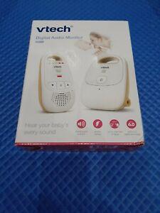 VTech  DECT 6.0 Digital Audio Baby Monitor w/Belt Clip, 1 Parent Unit White NEW!