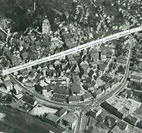 Herrenberg - Luftbild der Stadt - Großformat - wohl um 1960         S 22-5