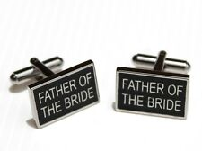 Father Of The Bride Pair Of Cuff Links Set Cuff links for your wedding CUFFLINKS