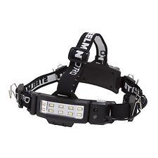 STEELMAN PRO 78834 LED Rechargeable 250-Lumen Slim Profile Jobsite Headlamp