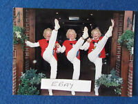 "Original Press Photo - 7""x5"" - The Beverley Sisters - 1997 - Kicking"