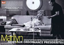 Coupure de presse Clipping 1998 Marilyn Monroe  (10 pages)