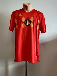 Football shirt soccer FC Belgium Belgique Home 2017/2018 Adidas Jersey Espana M