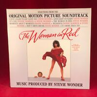 STEVIE WONDER The Woman In Red 1984 VINYL LP EXCELLENT CONDITION soundtrack #