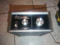 "Vintage dbx 100 ""BOOM BOX"" SUB-HARMONIC SYNTHESIZER for parts o repair"