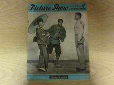 June 1957, PICTURE SHOW, Marlon Brando, Laraine Day, Robert Flemyng, Glenn Ford.