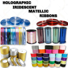 5 MM Metallic Holographic Ribbons 30 50 Meter Curling Balloons Ribbon Gift Wrap