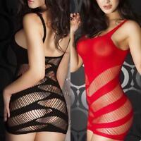 Women Sexy Lingerie Sleepwear Lace Ladies G-string Dress Babydoll New Style
