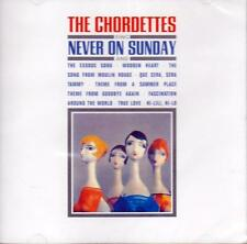 The Chordettes - Sing Never On Sunday (NEW SEALED CD)
