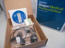 Nuance Dragon Medical Practice Edition Version 4 w/ USB Headset HS-GEN-25 (#14)