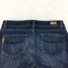 "Women's Paige Jeans Size 27 30"" Bell Canyon Style #0906143-597 Cotton Blend"