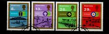 GUERNSEY. 75th ANNIVERSARY OF THE BOY SCOUTS 1982 USED