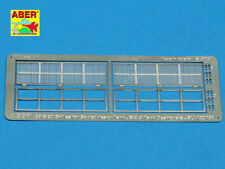 PHOTO-ECTHED MESH/GRILLES FOR RUSSIAN TANK JS-2 OR JSU-122/152 #35G20 1/35 ABER
