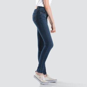Levis 711 Mid Rise Jeans Astro Indigo 26X32, 27X32 18881-0293