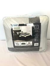 *Chic Home 10-Pc Duke Bed in A Bag Comforter Set King Color Block Black Cs1454